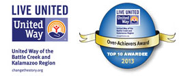 United Way and Over Achievers Award